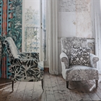 Homes & Gardens April 2014, Scroll-back chair and Percy chair
