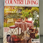 Country Living september 2016. Garden accessories