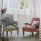 Capucine chair in Country Homes Interiors by Anna Malhomme de la Roche July 2014