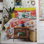 'Club Tropicana' styled by Anna Malhomme de La Roche Homes & Antiques August 2014