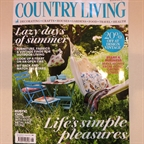 Garden furniture styled by the very talented Ben Kendrick for Country Living August 2014
